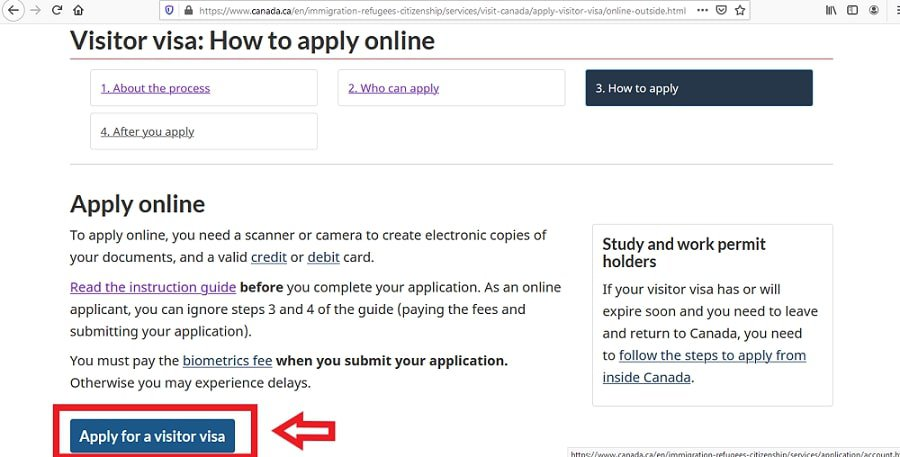 Canada Visa From Malaysia Application Online - 5
