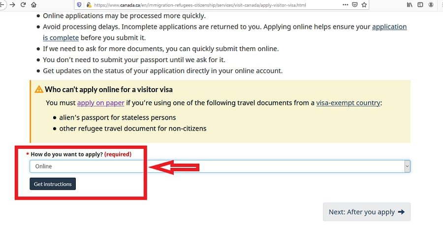Canada Visa From Zimbabwe Application Online - 4