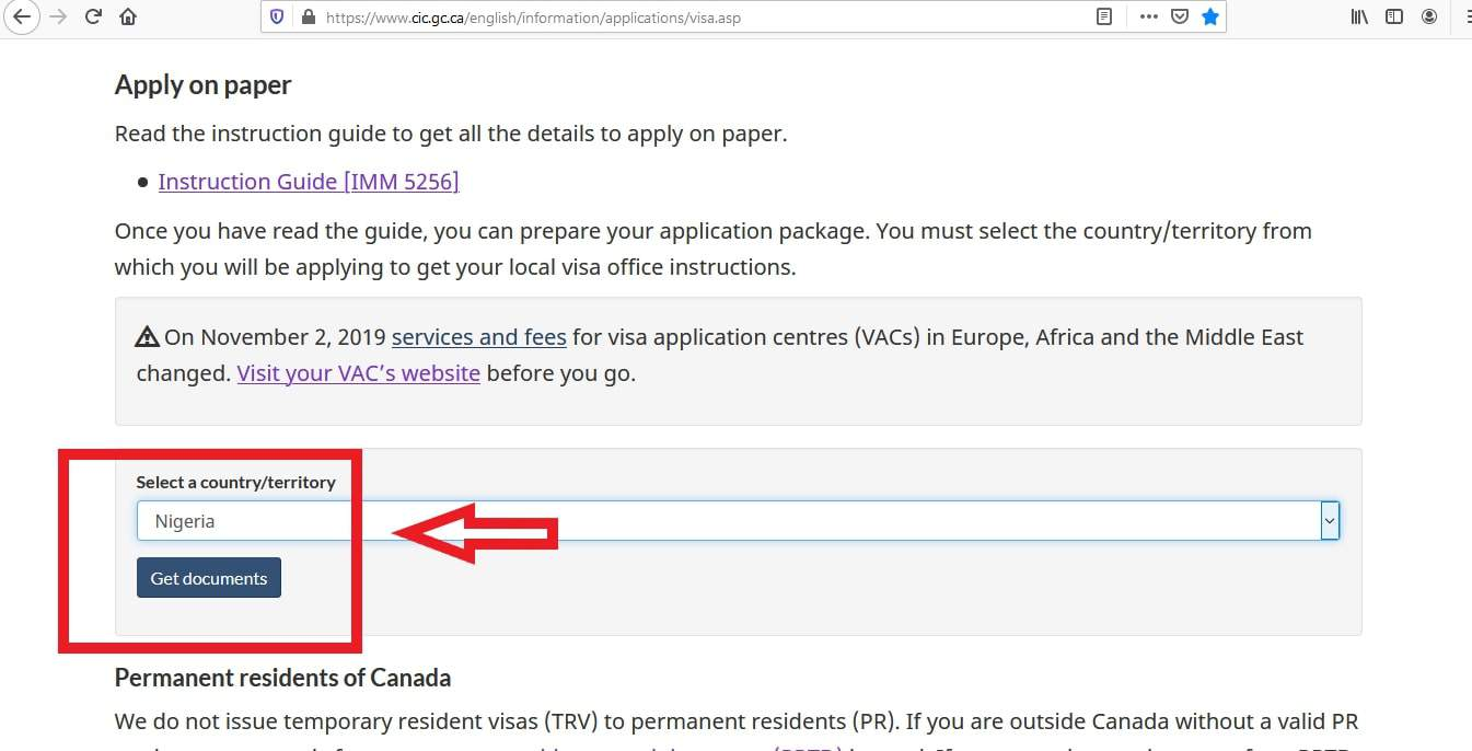 Canada Visa from Nigeria Application Documents Checklist - 3