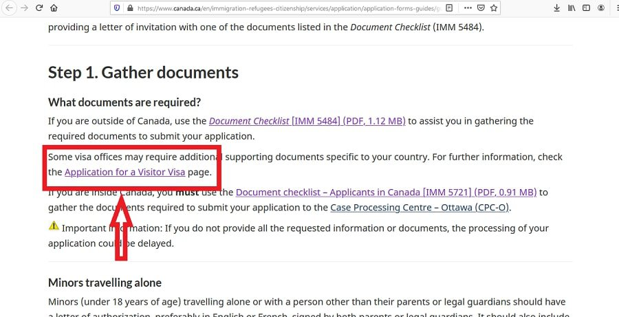 Canada Visa from Thailand Application Documents Checklist - 2
