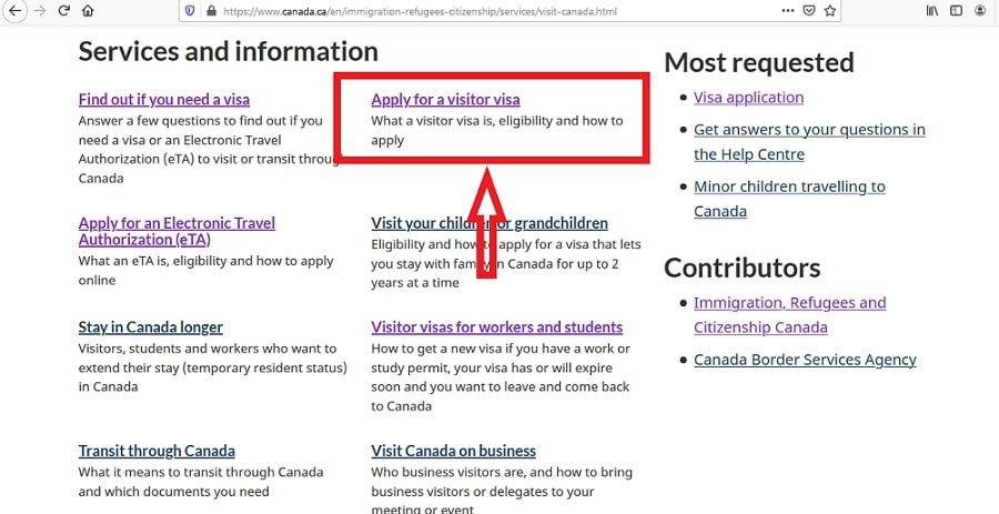 Canada Visa From Ghana Application Online - 2