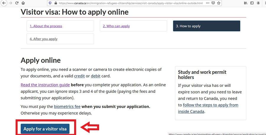 Canada Visa From Ghana Application Online - 5