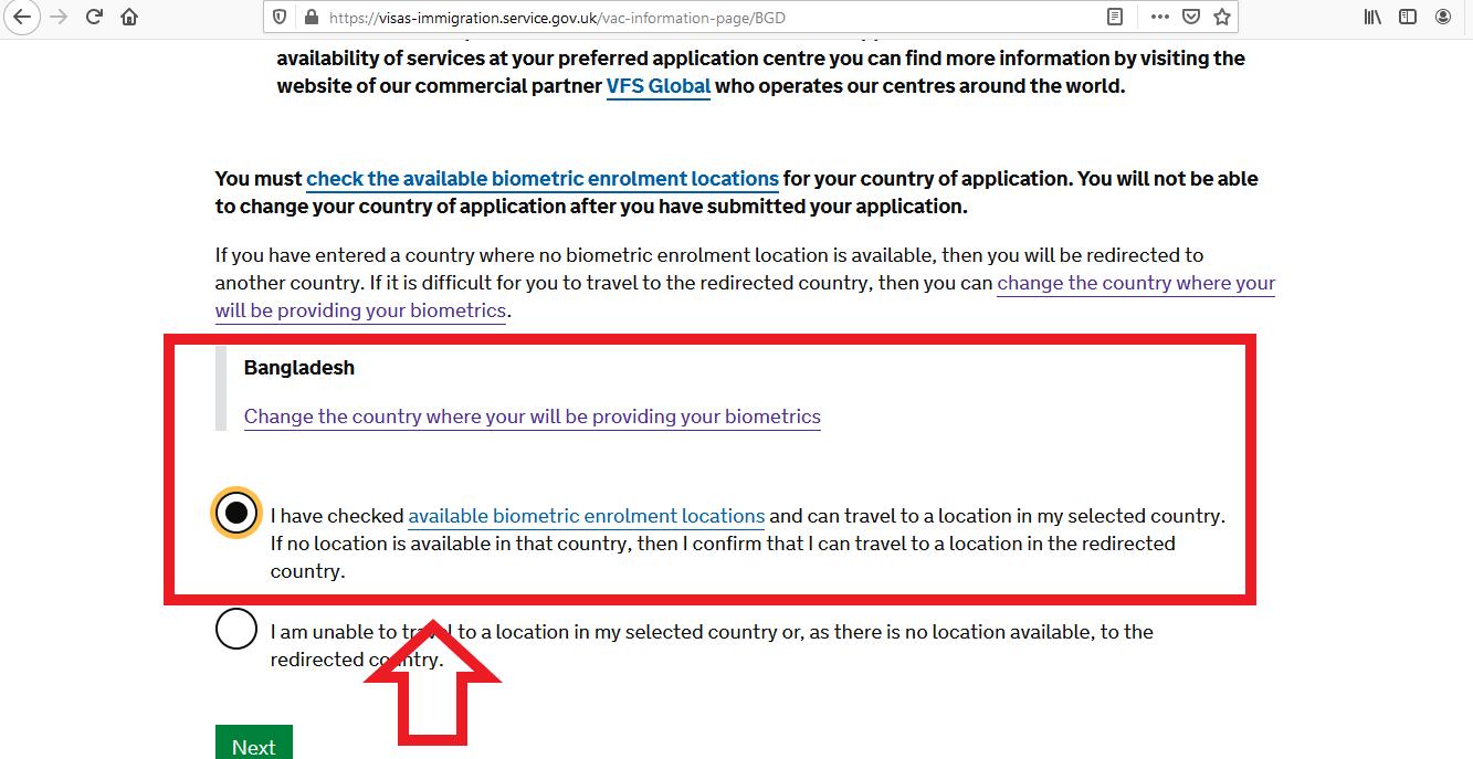 Apply UK Visa From Bangladesh Online Application 12