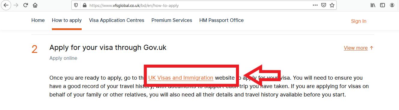 Apply UK Visa From Bangladesh Online Application 2