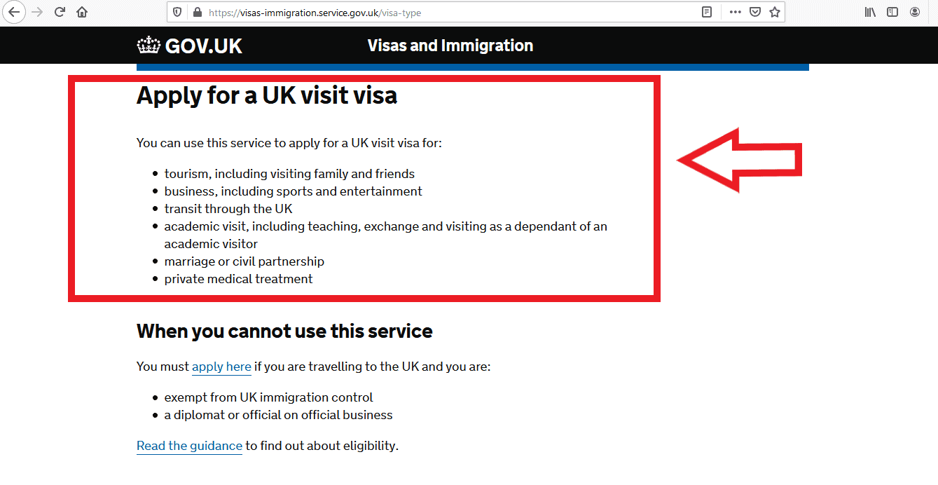 Apply UK Visa From Russia Application 13