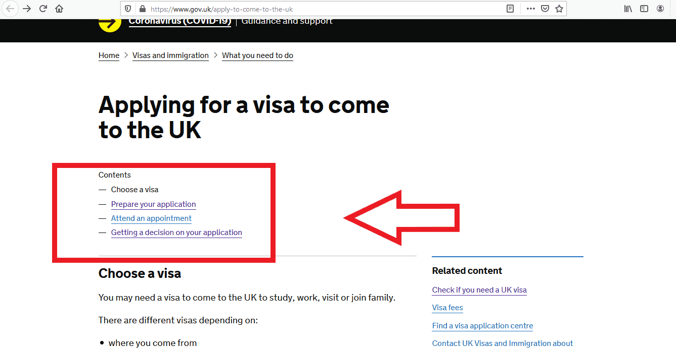 Apply UK Visa From Russia Application 3