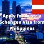 Apply for Austria Schengen Visa from Philippines