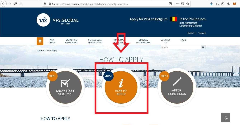Apply Belgium Schengen Visa From Philippines Application 2
