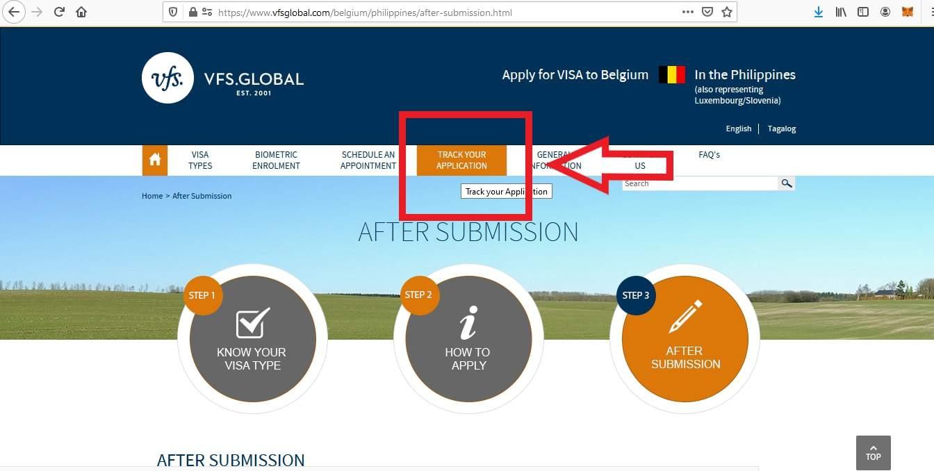 Apply Belgium Schengen Visa From Philippines Application 5