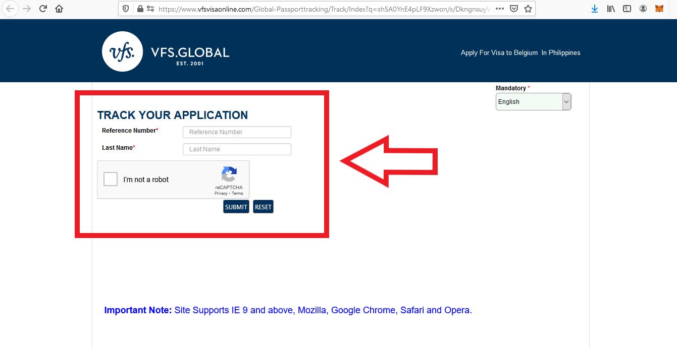 Apply Belgium Schengen Visa From Philippines Application 6