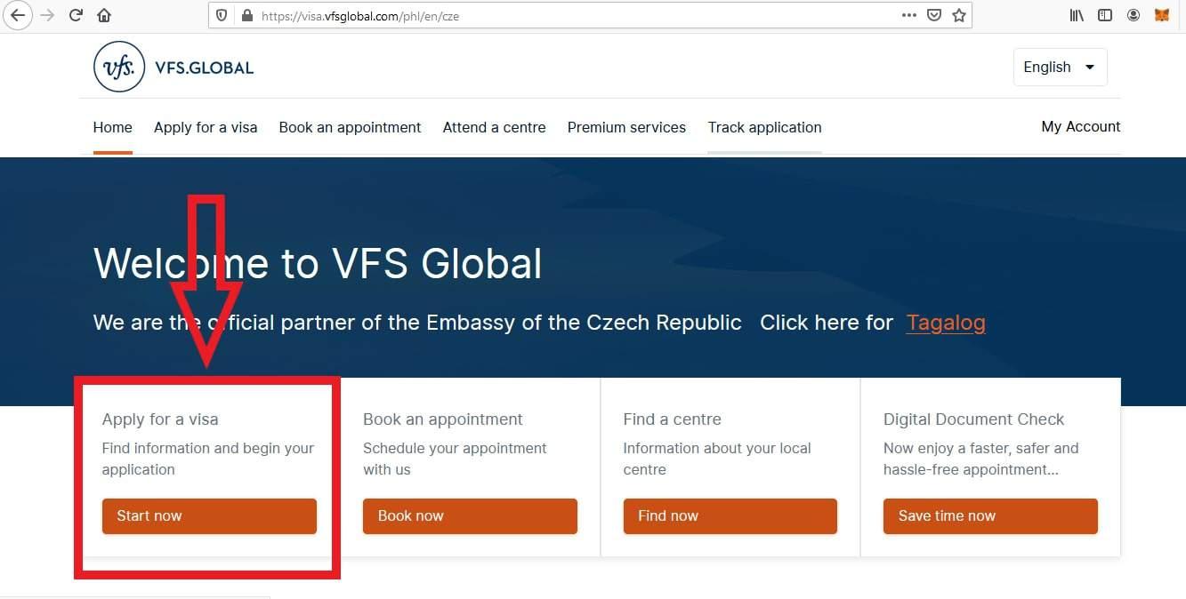 Apply Czech Republic Schengen Visa From Philippines Application 1
