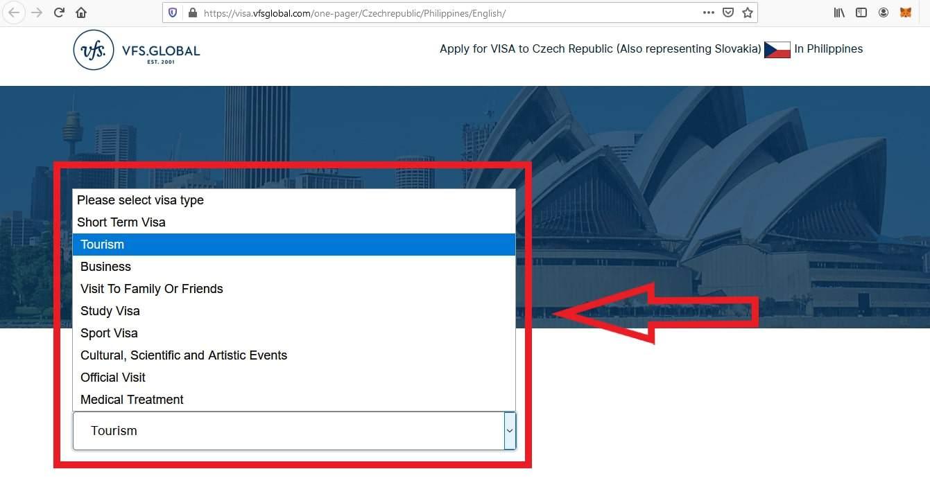 Apply Czech Republic Schengen Visa From Philippines Application 3
