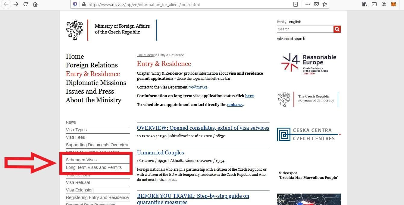 Apply Czech Republic Schengen Visa From Philippines Application 6