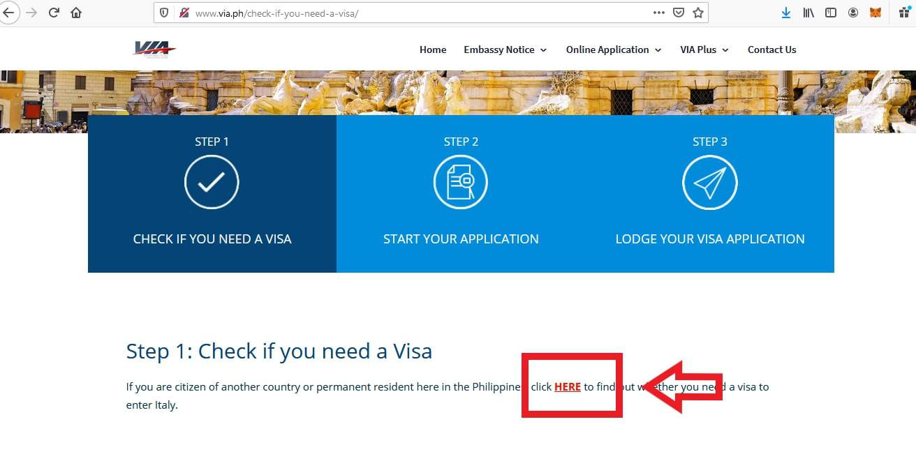 Apply For Italy Schengen Visa From Philippines Application3