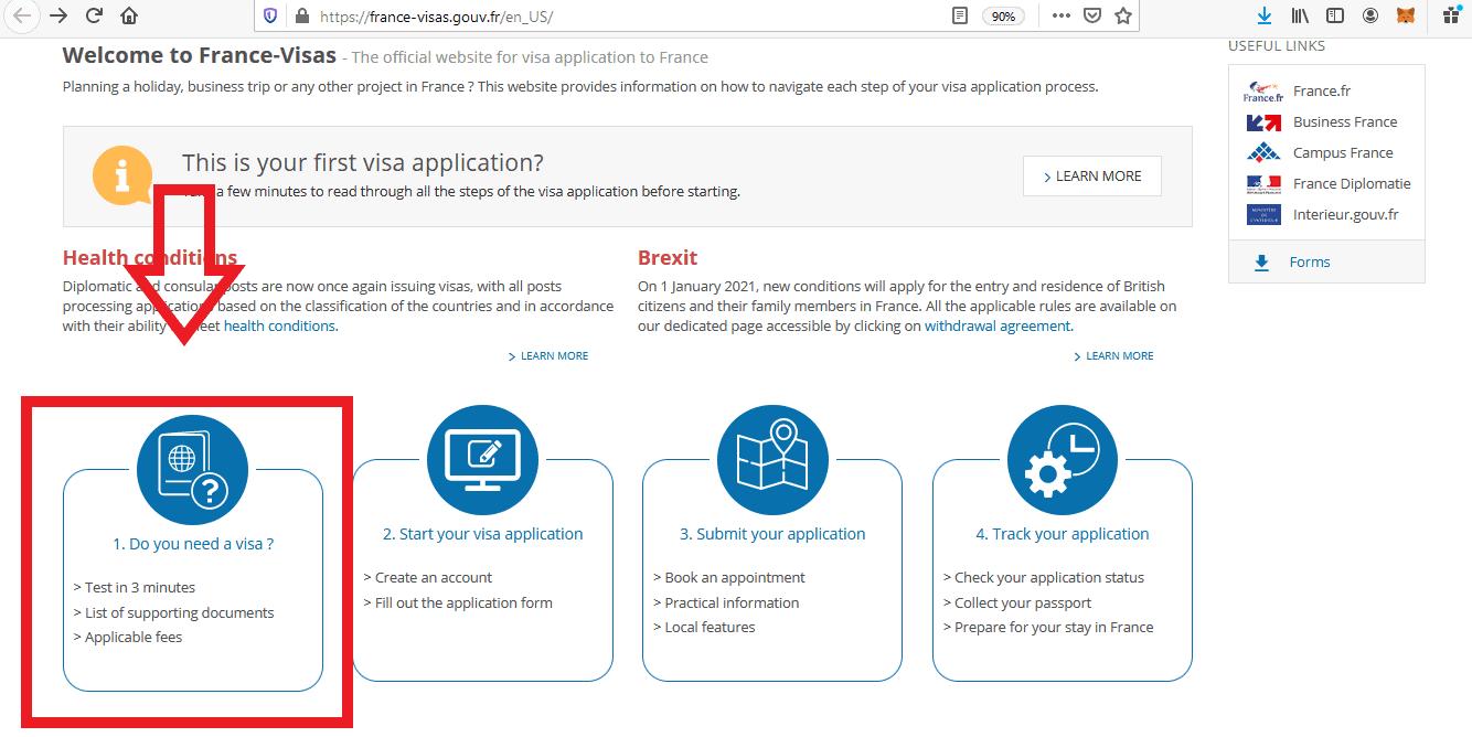 Apply for France Schengen Visa from Philippines Online Application3