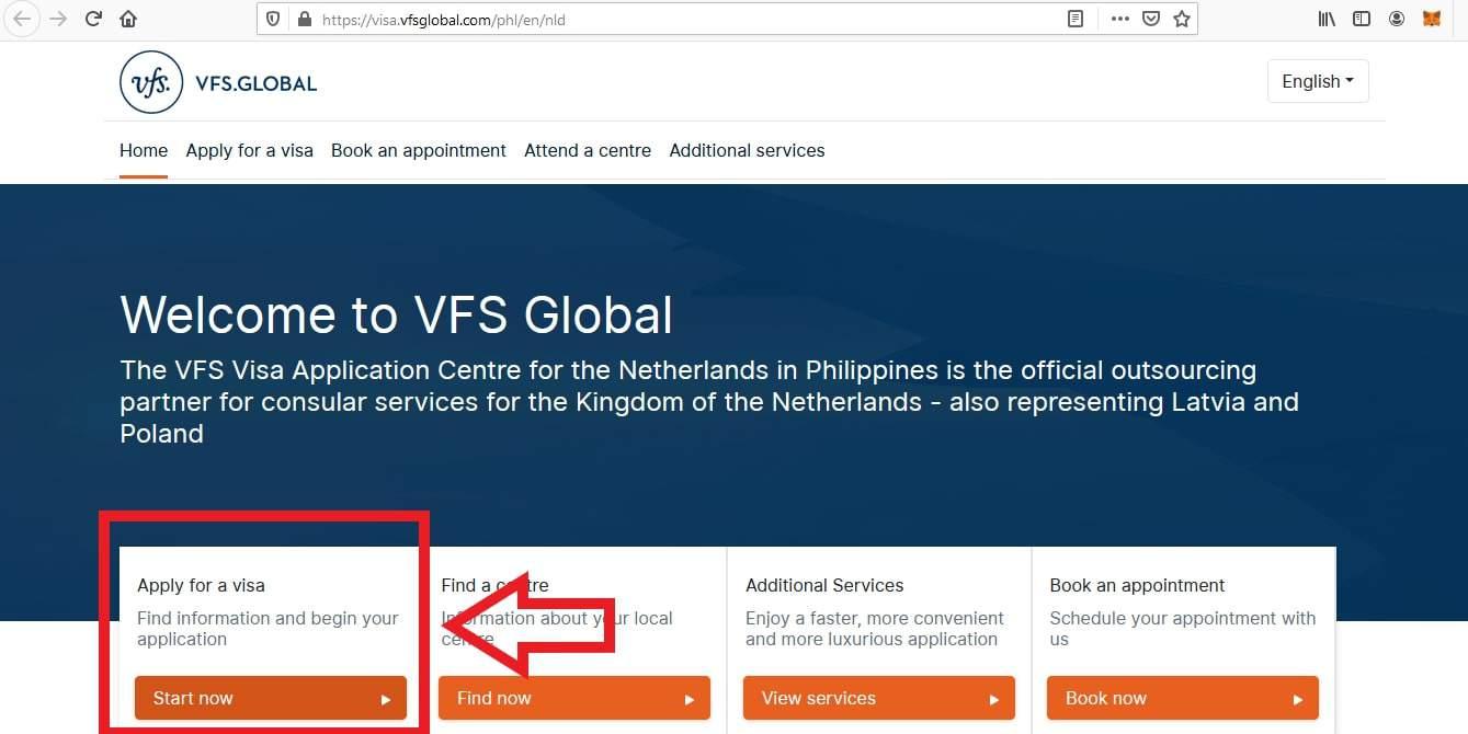 Apply for Netherlands Schengen Visa from Philippines Online Application1