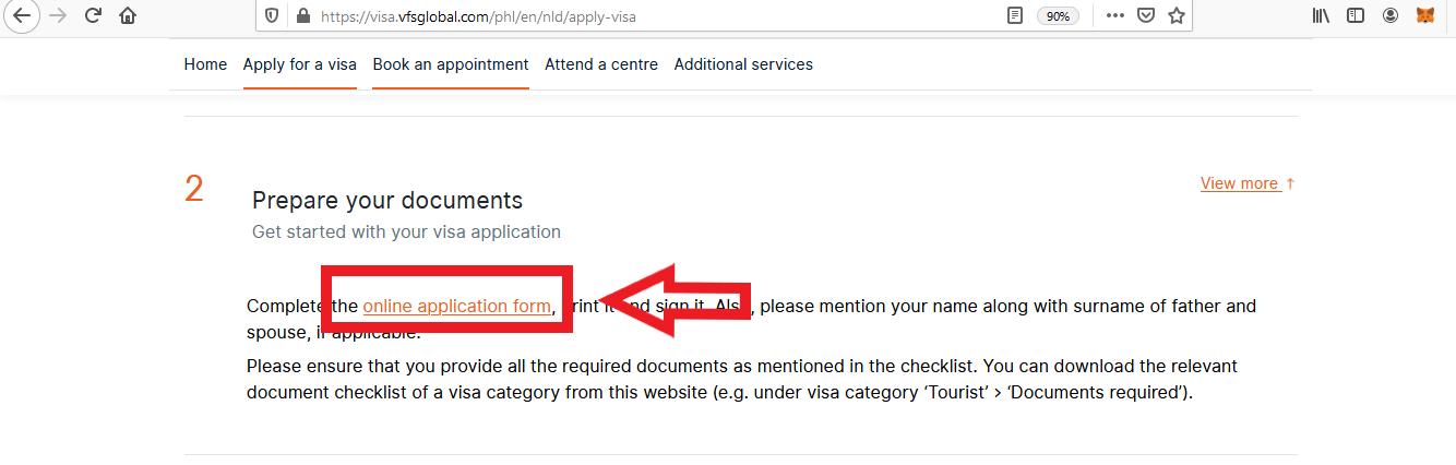 Apply for Netherlands Schengen Visa from Philippines Online Application4