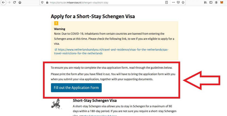 Apply for Netherlands Schengen Visa from Philippines Online Application7