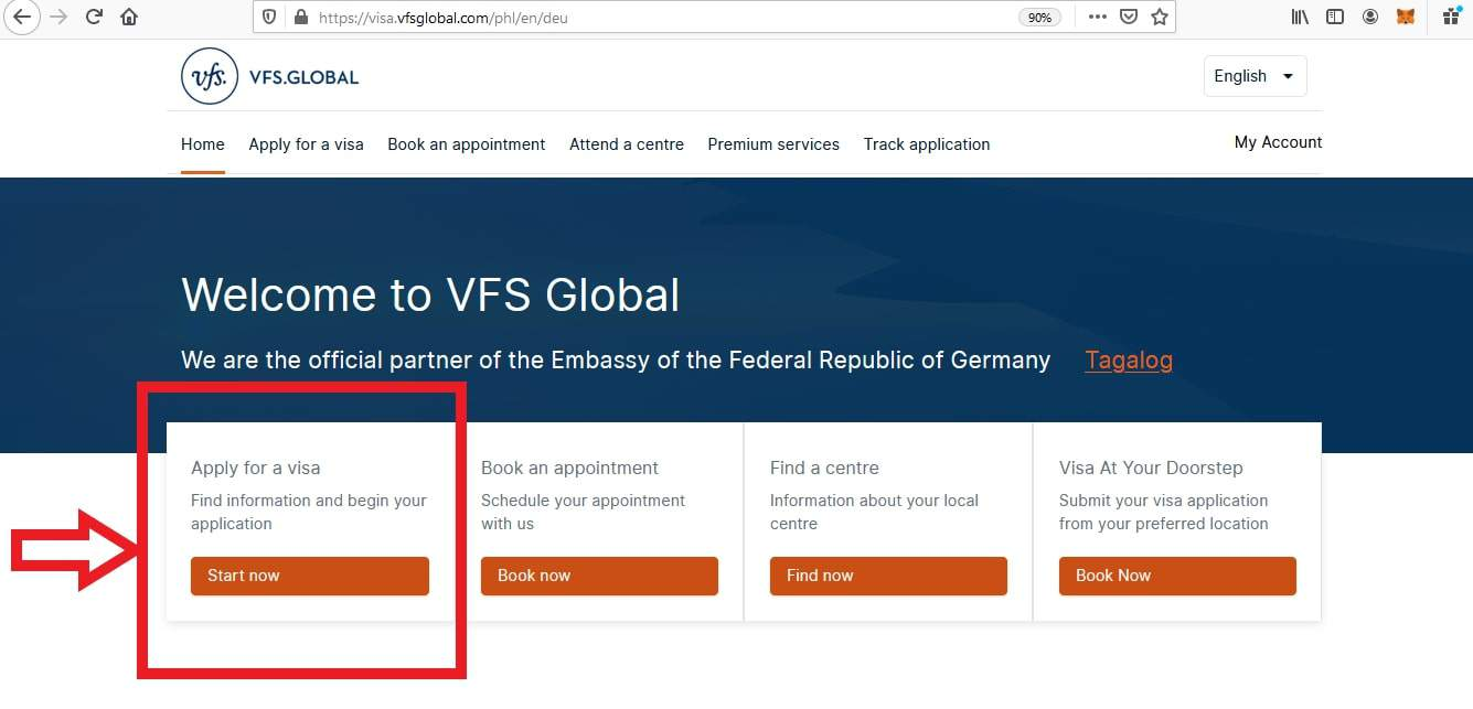 Apply for Germany Schengen Visa from Philippines Online Application1