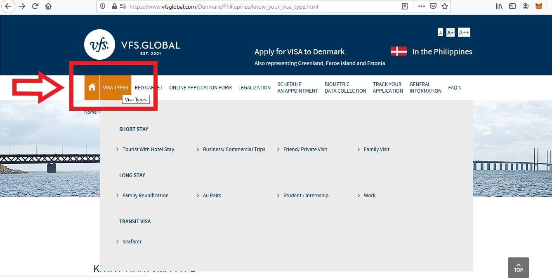 Apply for Denmark Schengen Visa from Philippines Online Application1