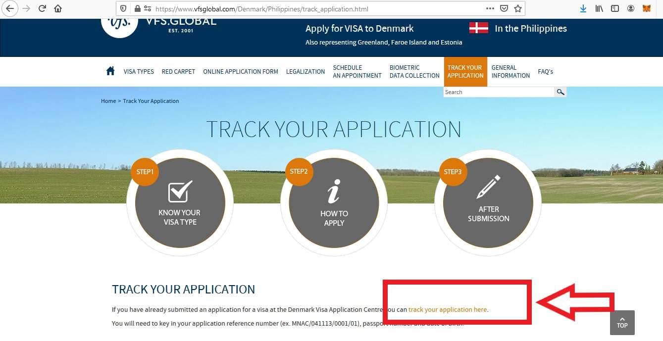 Apply for Denmark Schengen Visa from Philippines Online Application6
