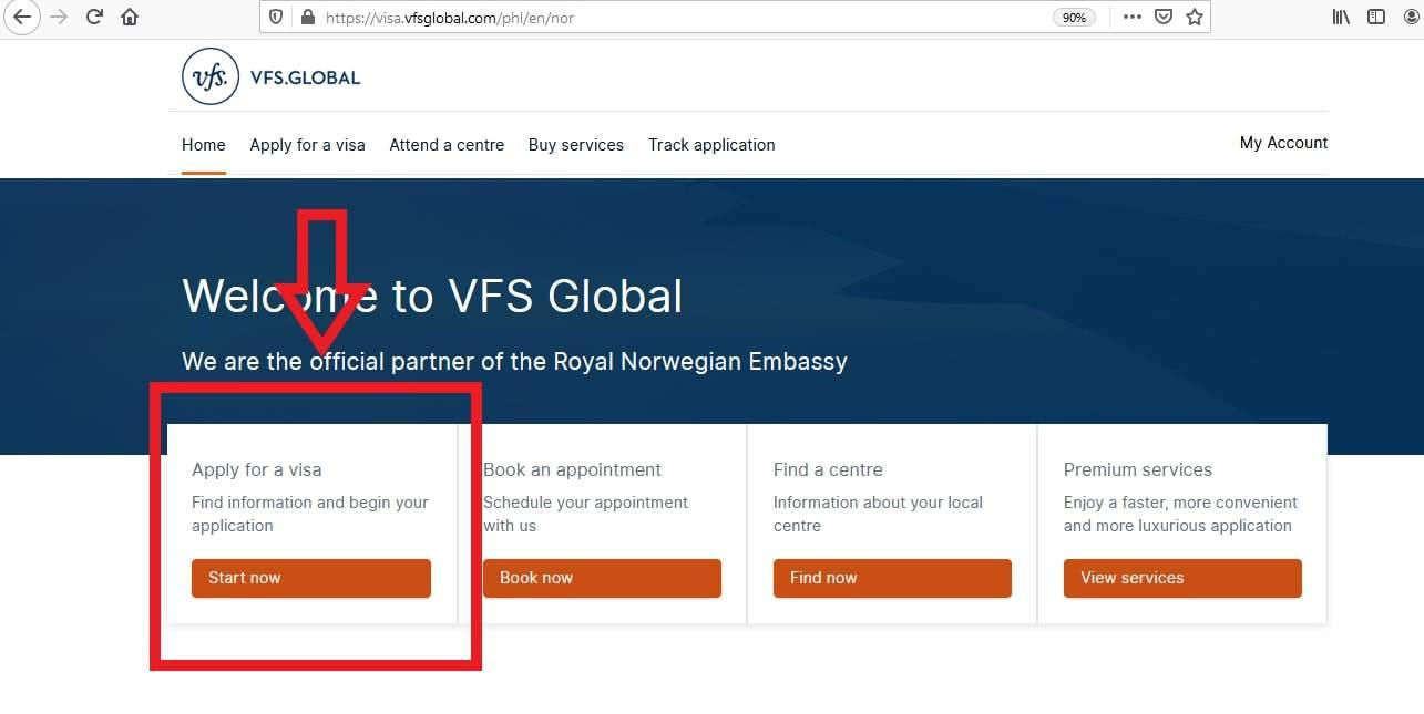 Apply for Iceland Schengen Visa from Philippines Online Application 1