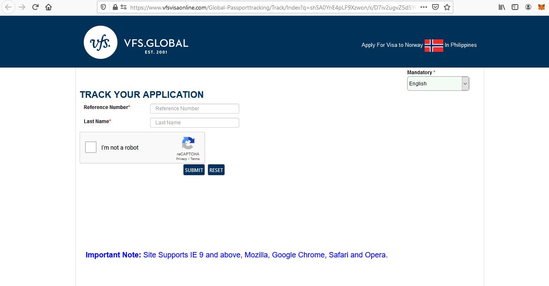 Apply for Norway Schengen Visa from Philippines Online Application8
