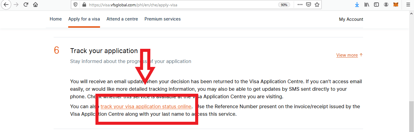 Apply for Switzerland Schengen Visa from Philippines Online Application8